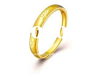 Fashion Jewelry,yellow gold diamond wedding rings(YGR0031)