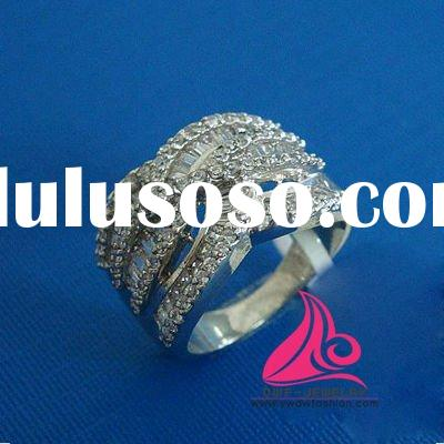 Fashion sterling silver ring casting