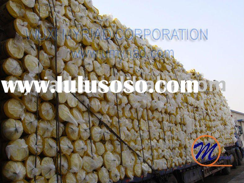 Glass wool insulation for sale price china manufacturer for Cost of mineral wool vs fiberglass insulation
