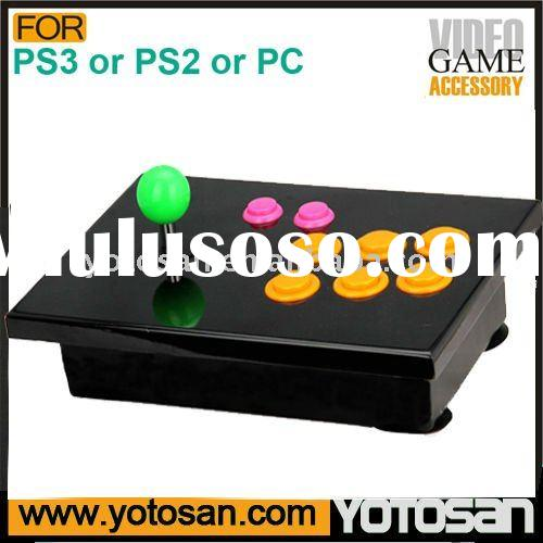 Fighting joystick for PC or PS3 or PS2 sony game