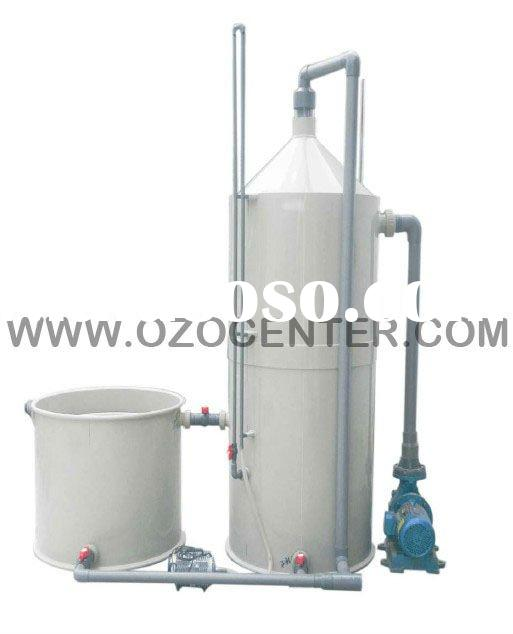 Fish farm/aquaculture disinfection and filtration system/equipment