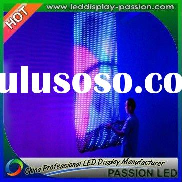 Flexible LED Display -Light,Thin,Transparent,Free to curl