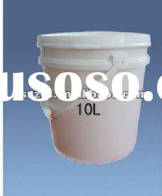 Food grade 10l plastic bucket with lid & handle