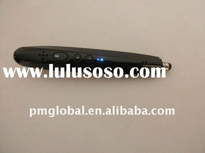For Smartphone&MID Tablet PC& Cell Phone Multifunctional Capacitive Bluetooth Pen Stylus Hea