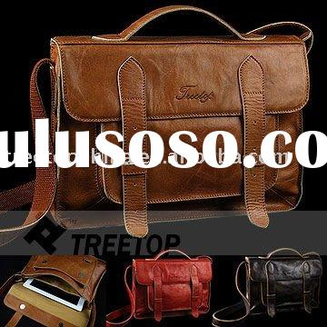 For iPad 2 Lightweight Men's Genuine Leather Bag,real leather laptop bag--Hot selling!!