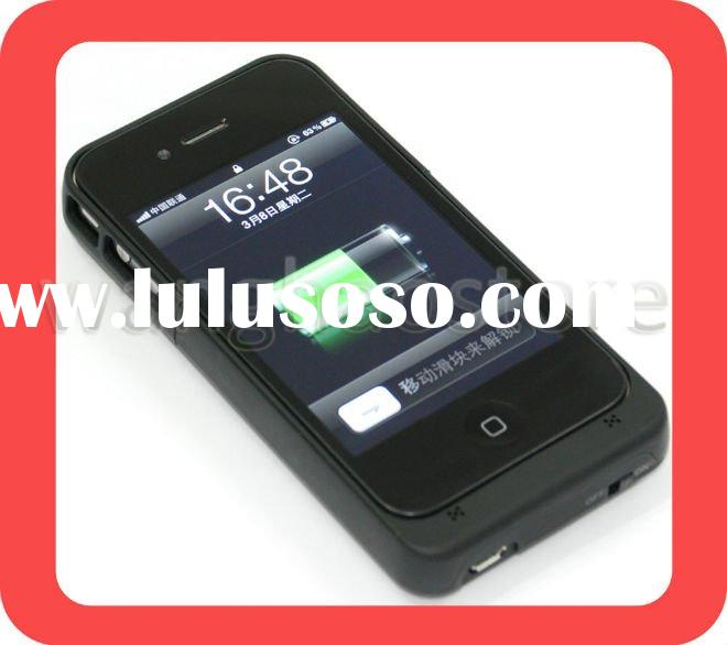 For iPhone 4 4G External Backup Battery Charger Case
