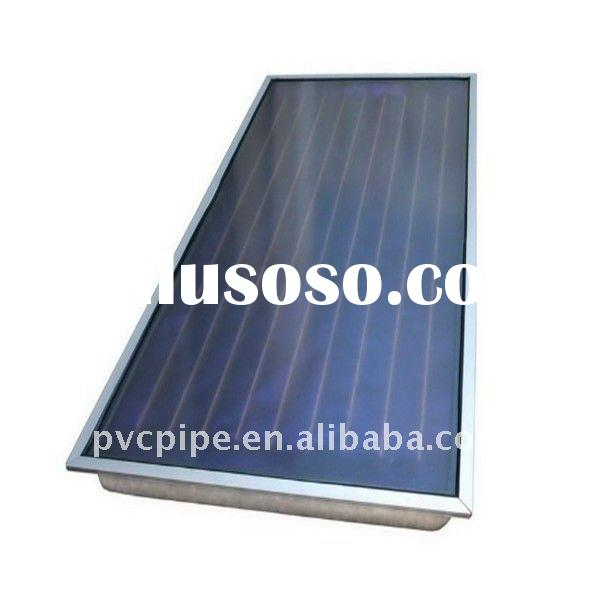 Freeze Resistant Flat Panel Plate Solar Water Heater Direct Vacuum Pipe