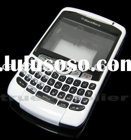 Full housing Faceplate for Blackberry curve 8300 8310 8320 (white)