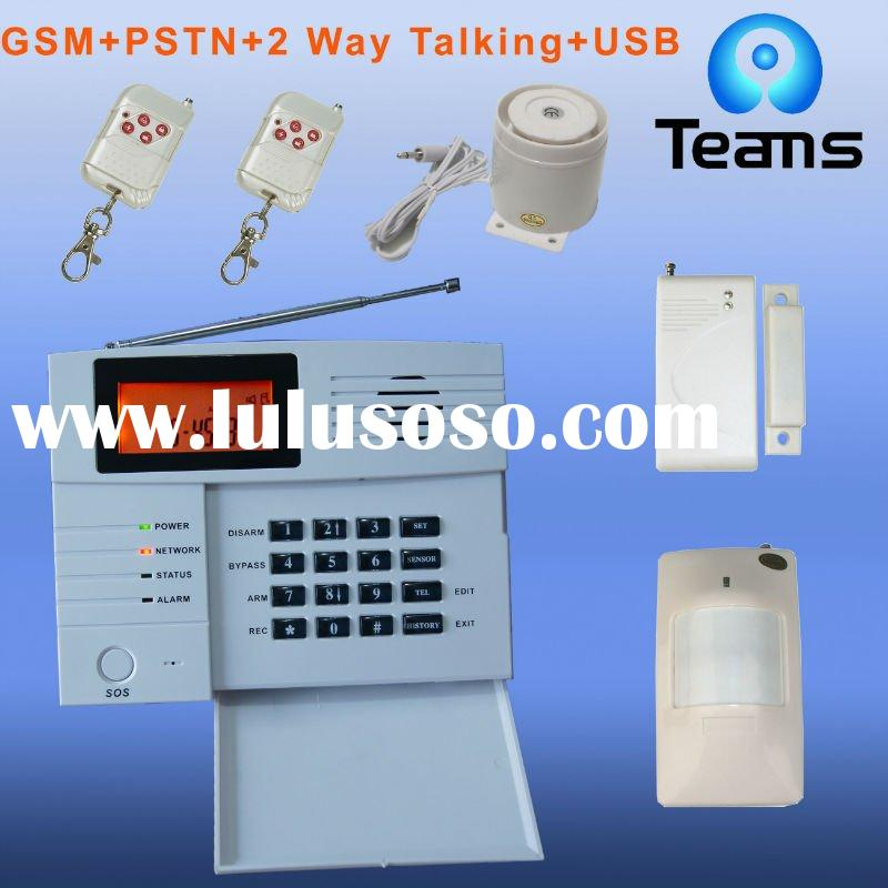 GSM&PSTN fire alarm panel system compatible with ADEMCO