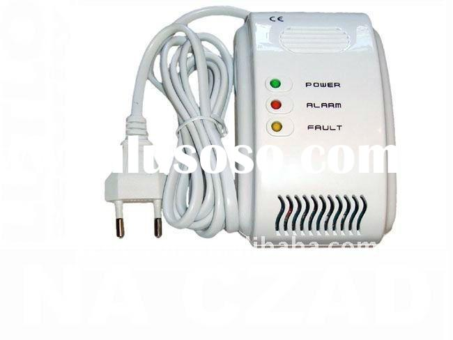 Gas Alarm with electromagnetic valve CE certificate
