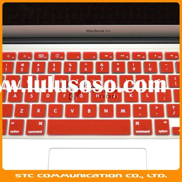 Good material soft colorful silicon, silicone keyboard skin, keyboard cover, keyboard protector for