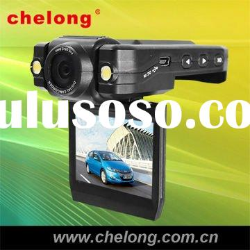 "HD car camcorder with 2.0"" TFT LCD screen,2pcs led lights ,140 wide angle(CL-077DV-H)"