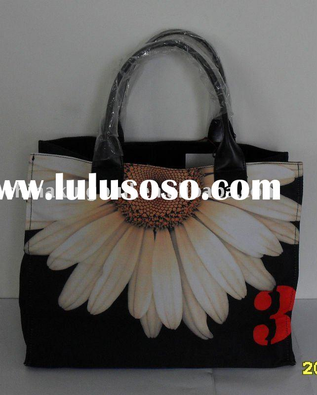 HOT! 2011 Heat Transfer Printing Ladies Fashion Handbag