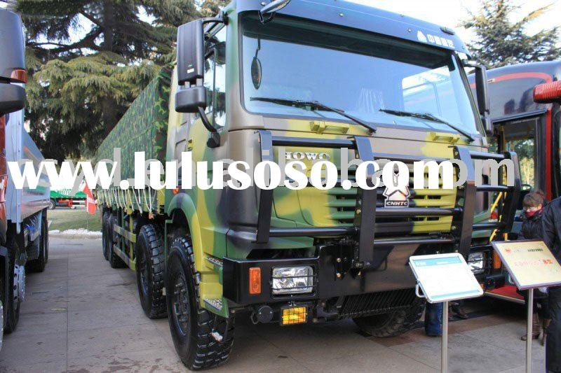 HOWO 8*8 ALL-WHEEL DRIVE VEHICLE, DUMP TRUCK