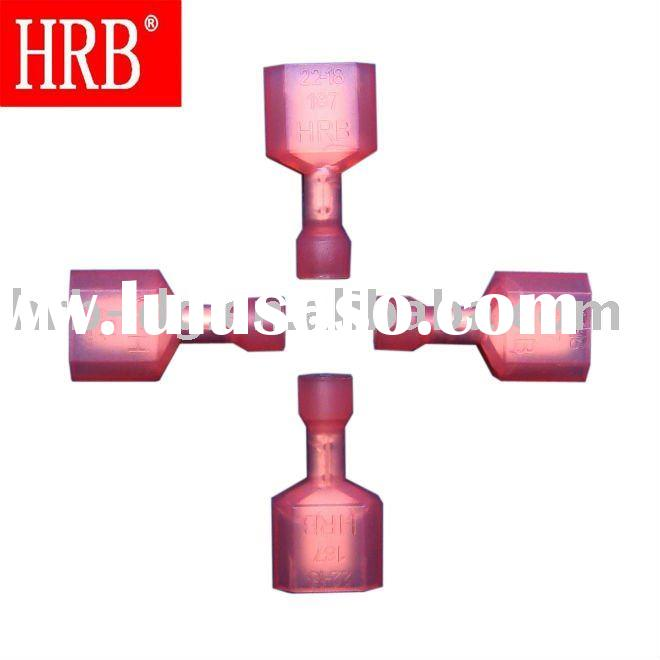 HRB 187 red straight one wire insulated male terminal and disconnector