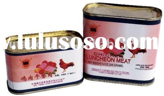 Halal Food: Chicken Luncheon Meat