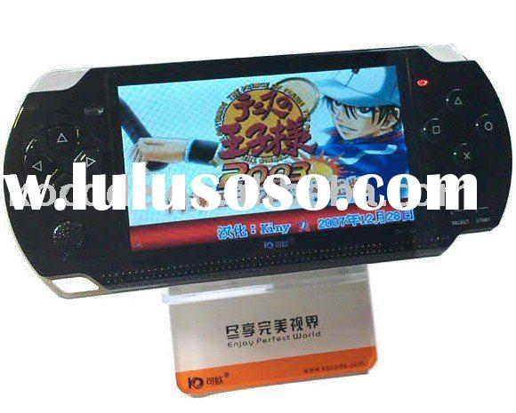 Handheld PMP game player with 360 degree joystick