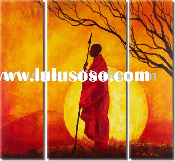 Handmade Landscape(Decoration) Oil Painting On Canvas(295)