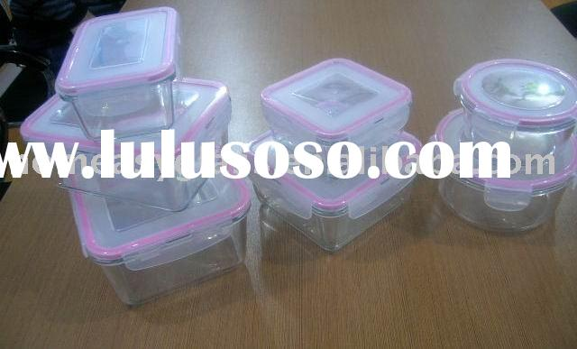 Heat-Resistant/Pyrex Glass Storage set Containers