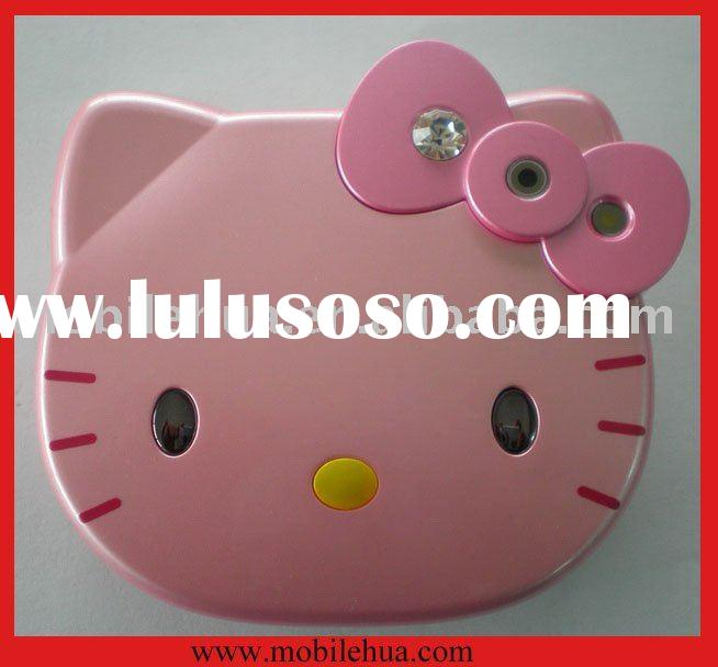 Hello Kitty Cartoon Mobile Phone With Qwerty keyboard & Dual SIM
