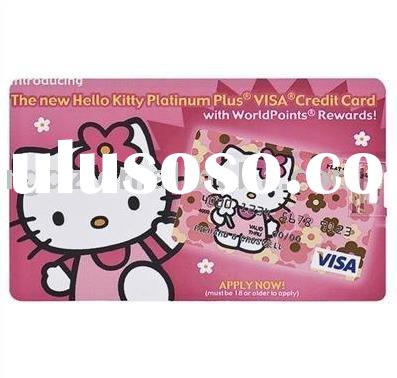 Hello kitty Credit Card USB Disk,Pen Drive 4GB