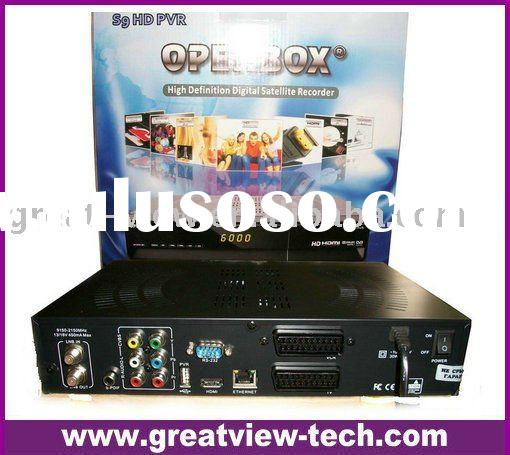 High definition satellite receiver Openbox s9 HD receiver DVB-S2 with PVR function STB receiver work