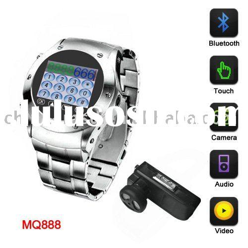 High quality Quad band cell phone watch with 1.5inch touch screen