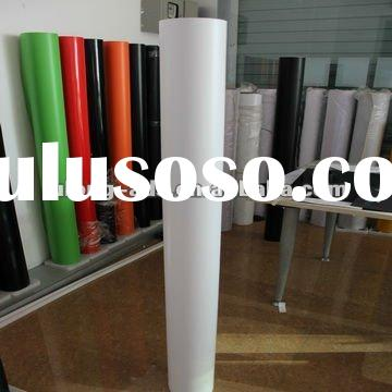 High quality car wrapping vinyl film with air bubble free