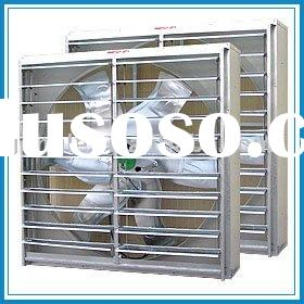 High quality greenhouse ventilation system cooling fan with stainless steel blade