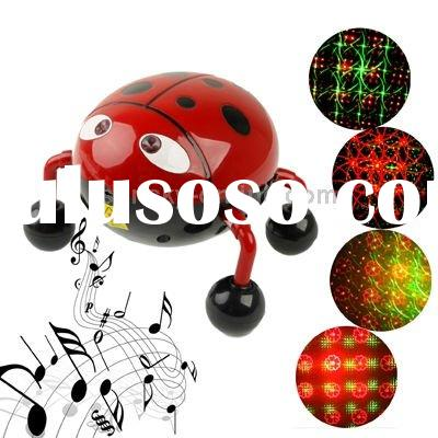 Holographic Laser Star Projector Stage Light with Multimedia Music Player Function, Support USB and