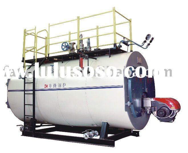 Horizontal Gas/Oil fired industrial steam boiler
