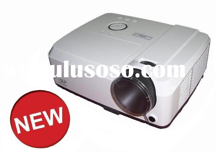 Hot! XGA - 1024*768 - 3000 Lumens Projector - HD 1080P - 3000:1 DLP Projector - HDMI, VGA, S-Video,