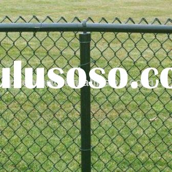 Hot dipped Galvanized Coated Chain Link Fence(ISO9001:2008)