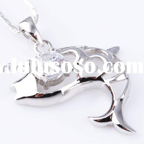 Hot sale newest 30.5x19.5mm fashion 100% 925 charm 925 silver pendant