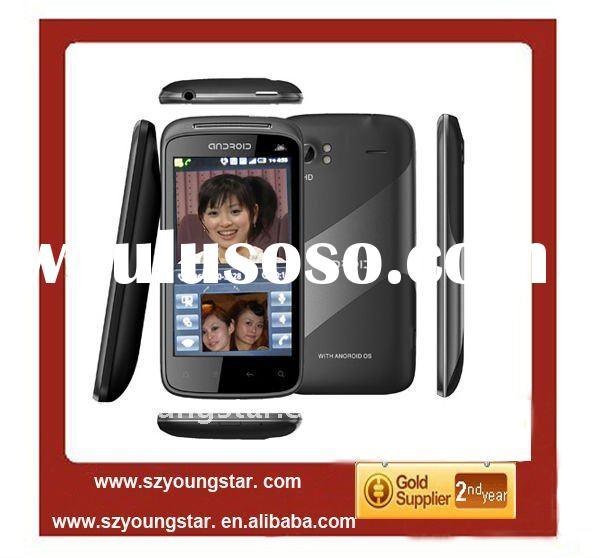 Hot sales cheap MTK6573 dual sim cards 3G WCDMA Android 2.3 mobile phone A3