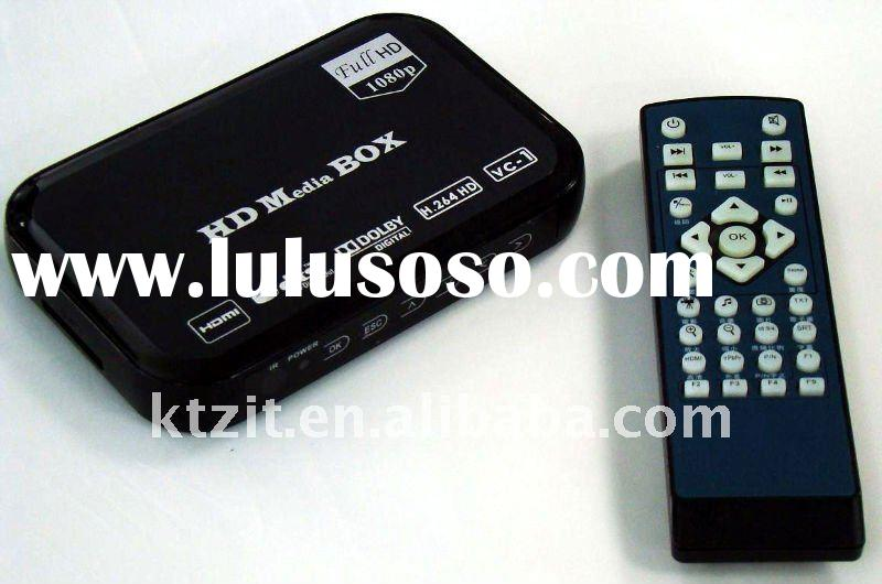 Hotselling 1080P Full HD HDMI Media Player With Supporting DTS 5.1