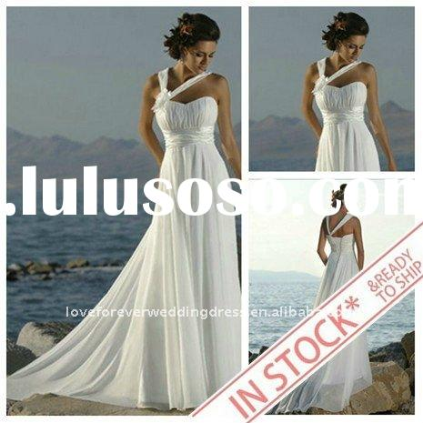 IN STOCK Best Selling Beach Wedding Gowns Designers