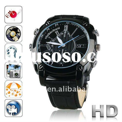 IR Night vision Motion Detective Waterproof Camera Watch DVR