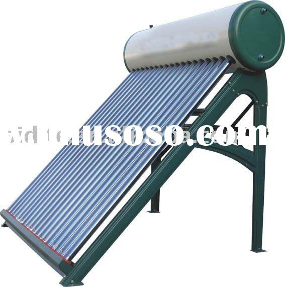 Integrative Pressurized Solar Water Heater heat pipe type