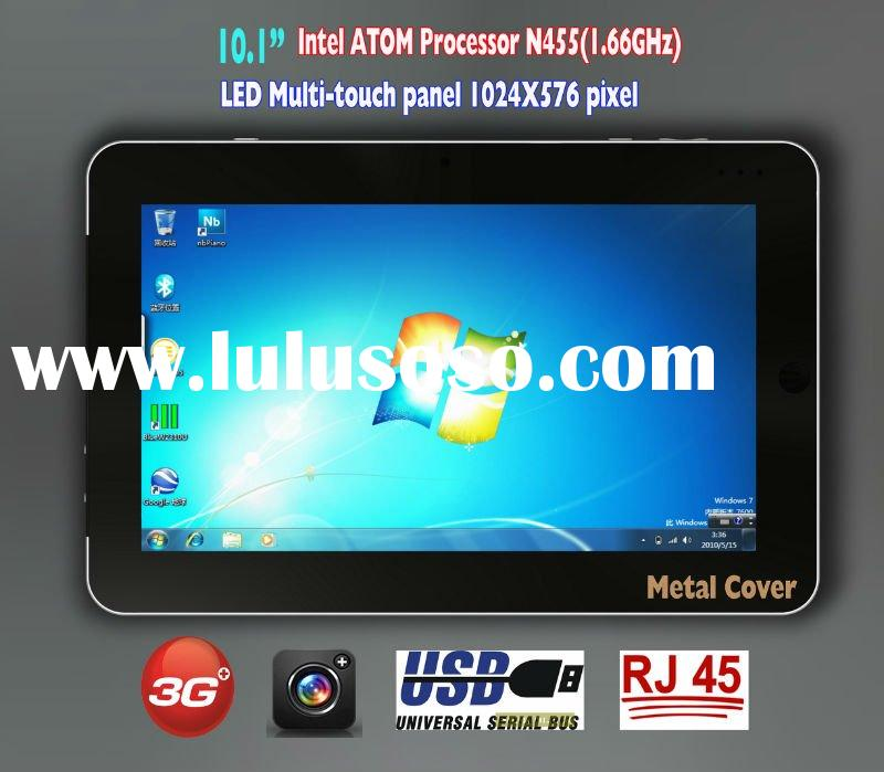 "Intel ATOM Processor N455 tablet pc 10.1"" with SSD Win7"