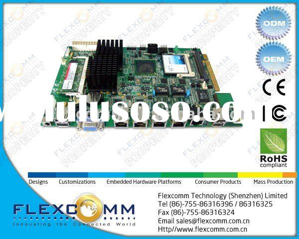 Intel Atom N270 CPU Embedded board with 5.25 inch size, 4 1000M Ethernet port, up to 2GB DDR2 Memory