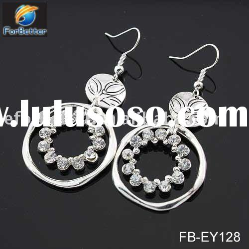 Jewelry,Hot Selling fashion diamond african earrings FB-EY128