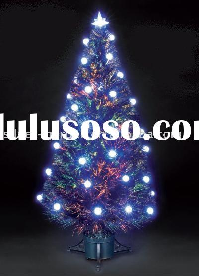 LED Fiber Optic Xmas Tree