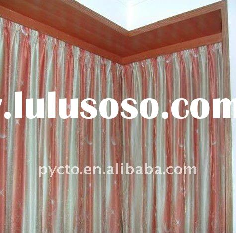 L type Remote Motorized Curtain track