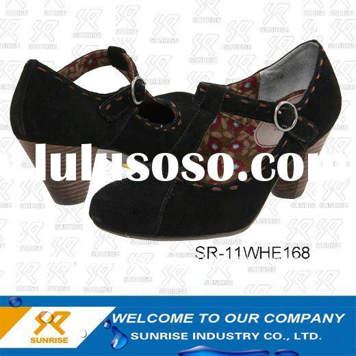 Ladies fashion design high heel shoes