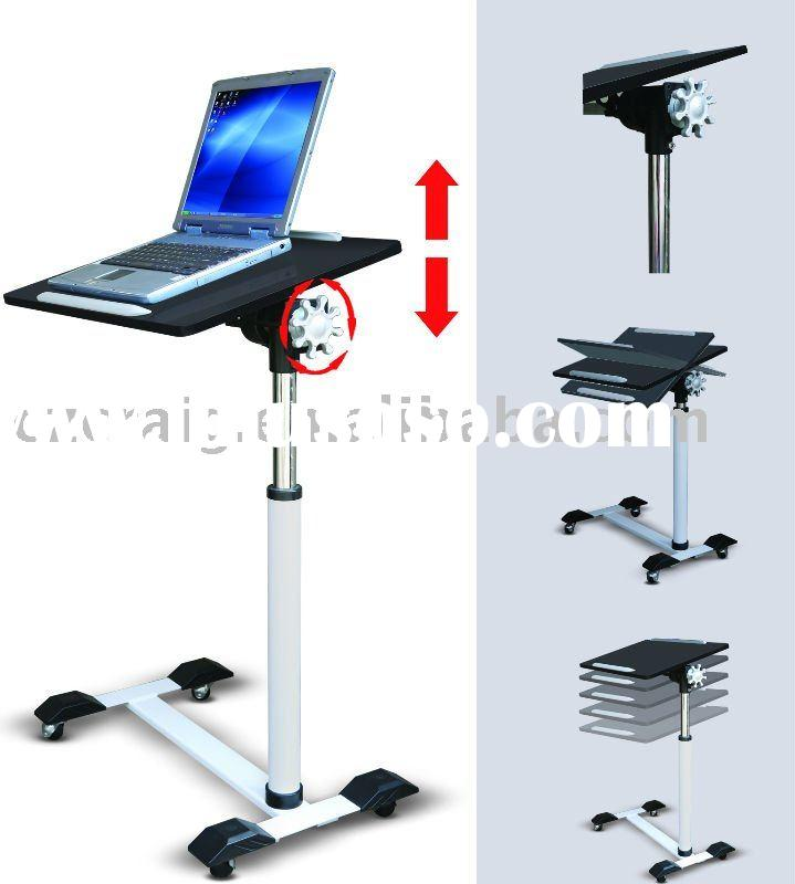 Laptop Computer Desk With Height Adjustable