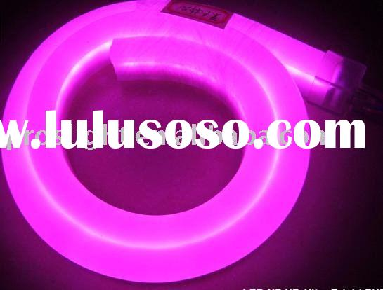 Led neon flex, led neon rope, led neon tube for decoration lighting, building edge lighting, cove li