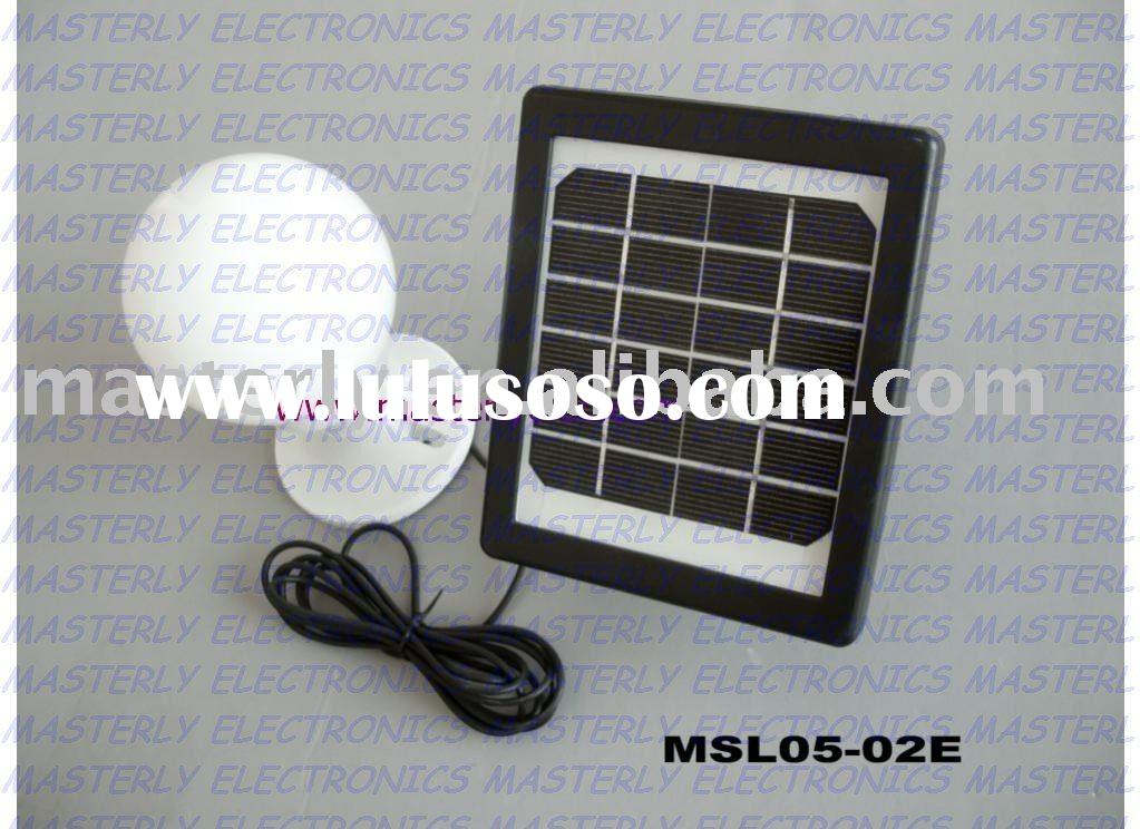 MINI solar lighting system for home use