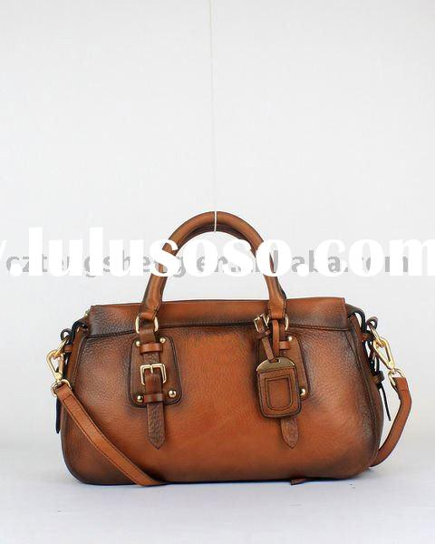 MOQ1- Fashion Designer Lady Leather Handbag No.8821
