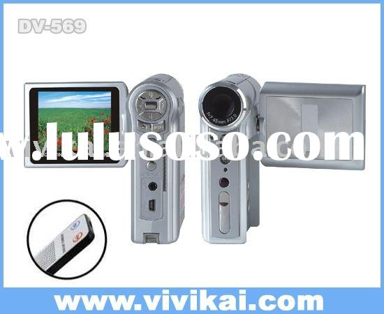 "MP3 digital camera / video camcorder with 12.0Megapixel,2.4""TFT LCD,remote control,(DV569)"